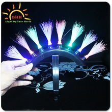 led headband decoration flashing Lighted Dreadlocks wholesale
