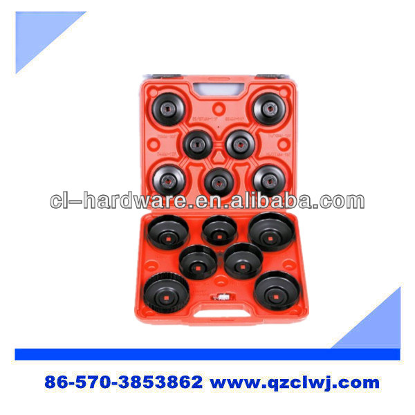 13 PC. End Cap Oil Filter Wrench Set