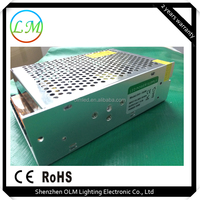Chinese top10 150w ip20 ironclad led power supply