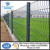 Factory provide the Green PVC coated welded wire mesh fence/ garden fence panels