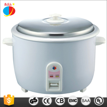 Household home kitchen appliance OEM big size national dual voltage cast iron pot drum shape 25 liter rice cooker