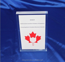 Acrylic Paper Photo Frame / Certification holder