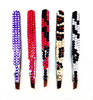 personal care metal eyebrow tweezers with bling bling rhinestone