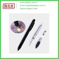 NEW 2016 Promotional Pens Stand And Touch Pen Record Stylus