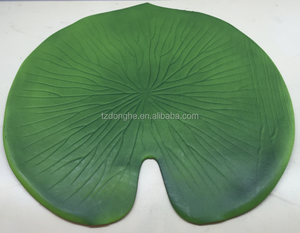 Tabletex custom EVA leaf shaped foam placemat and coasters silicone placemat