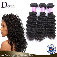 Human Hair in New York Cheap 10A Brazilian Virgin Hair Deep Wave