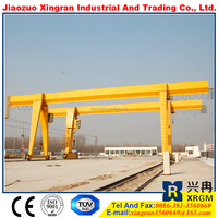 MH type 10 ton gantry crane price, rail mounted gantry crane price