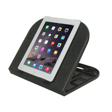 Plastic folding tablet stand with mouse pad