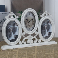 4*6 inch round picture cared flower photo frames