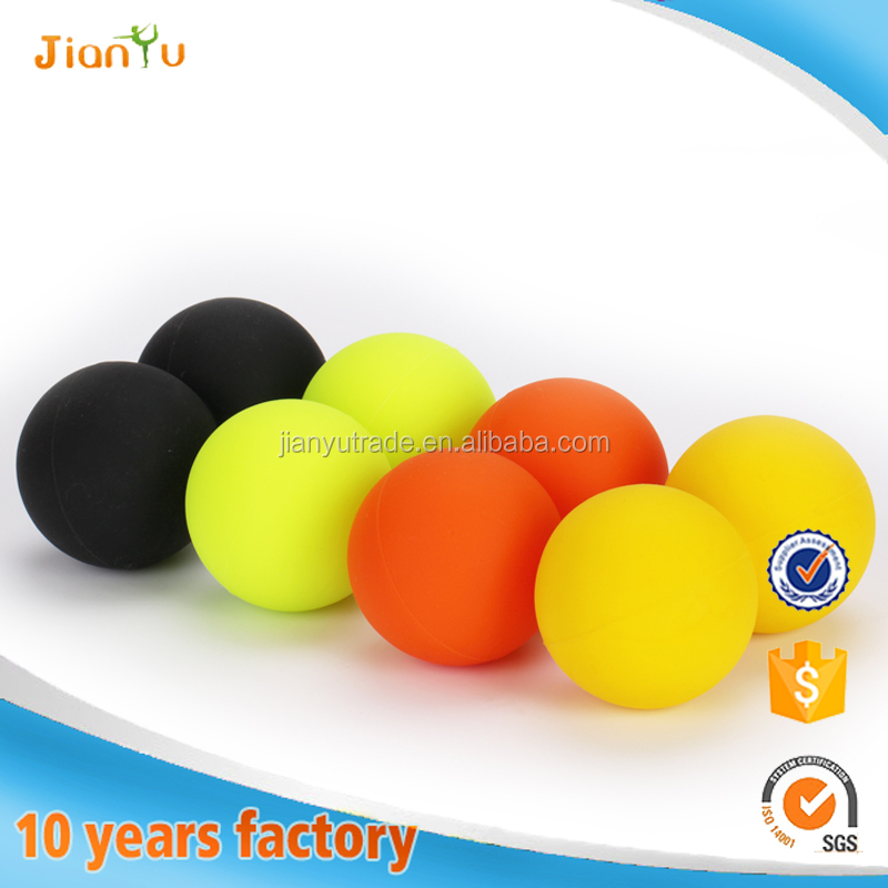 Double Lacrosse Massage Ball Massage Roller Ball Silicone Peanut Ball for CrossFit & Yoga