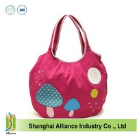 Cute tote canvas bags printed ALD514