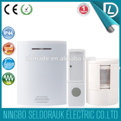 OEM/ODM available smart home waterprrof shop entry door chime motion detector