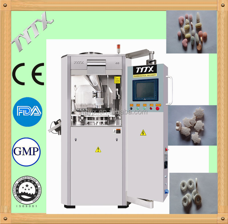 high speed rotary tablet pill making machine