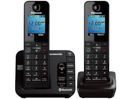 Panasonic Panasonic KX-TGH262B Link to Cell Bluetooth Enabled Phone with Answering Machine