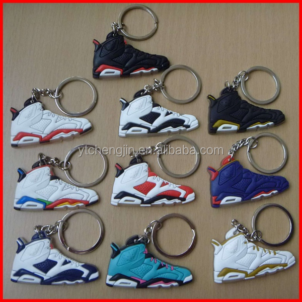 Hot sale nike air max/air jordan nike sneaker shoes/unique design keychain