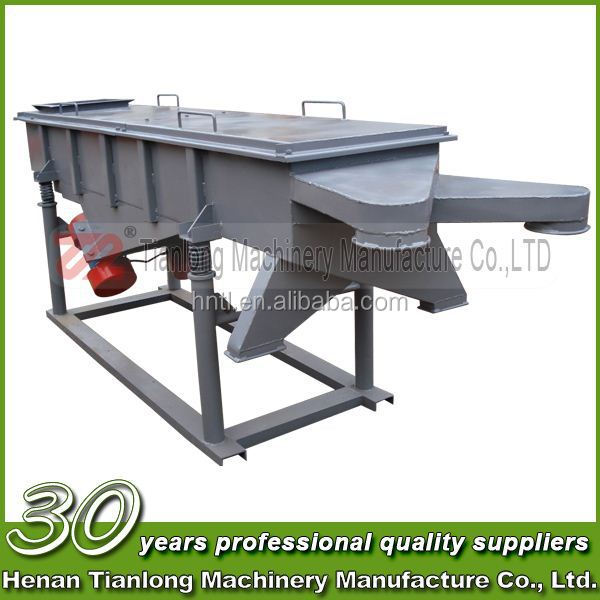 Organic Germanium Powder Linear Vibrating Screen Machine