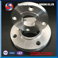 ST Rolled Suitable Price cold forging process parts class 150 flange