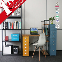 FACTORY SUPPLIER industrial furniture 8 drawers movable pedestal filing cabinet