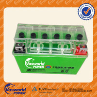 Vasworld power OEM Best Quality Maintenance Free Motorcycle Battery GT4L-BS