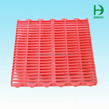 leak dung clear plastic slat flooring mat chicken farm
