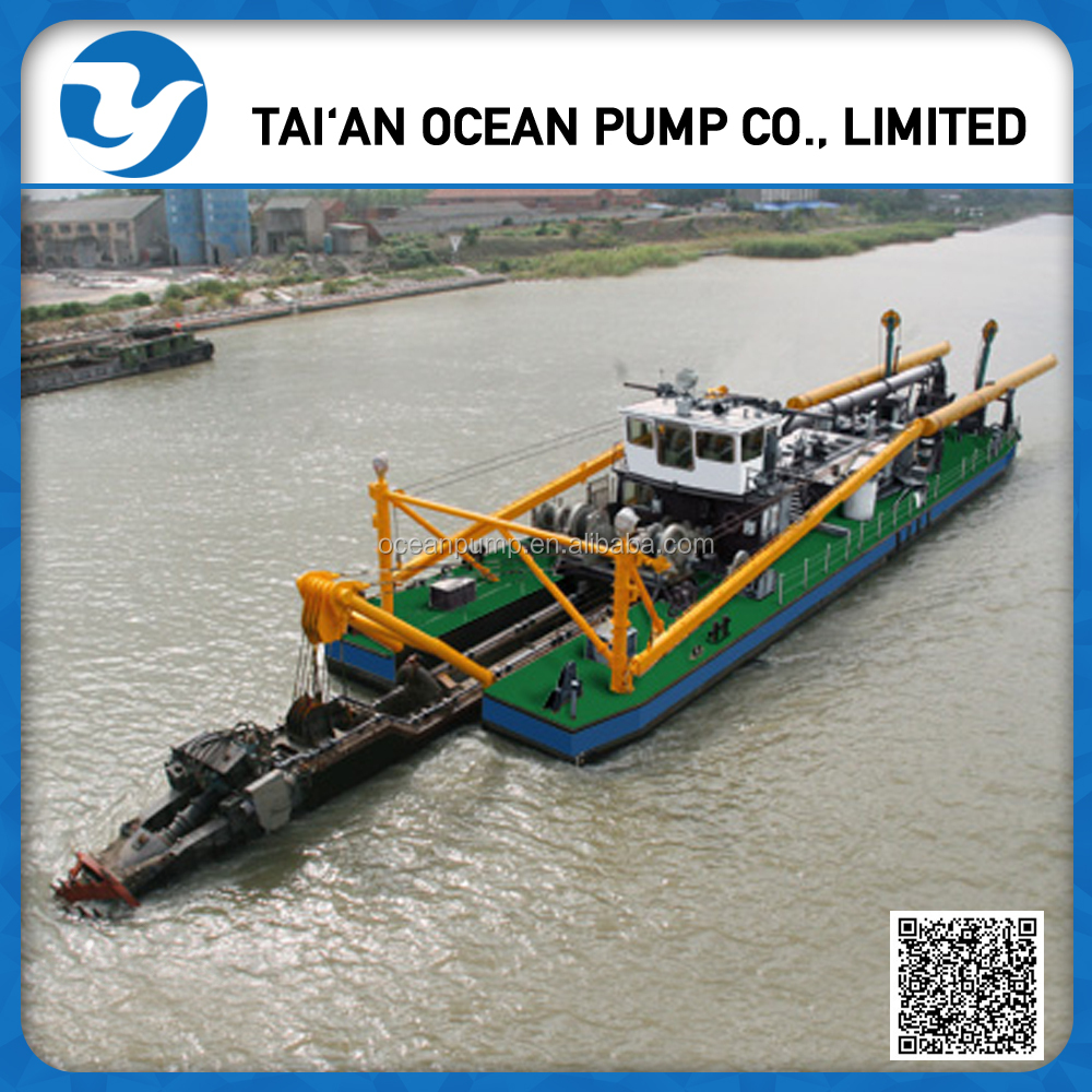 China Gold Mining Hydraulic Cutter Suction Dredger Machine