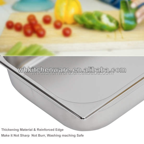 LFGB & NSF Approve Heavy Duty Stainless Steel gn pan kitchen things