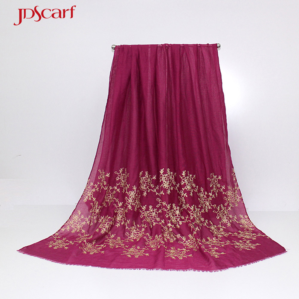 embroidery shawl exclusive shawls designable all types of hijab stoles