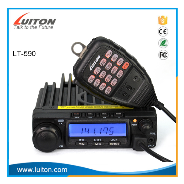 LT-590 60Watts VHF 136-174 MHz Long Talk Range Vehicle Mounted Mobile Radio Base Station Car Radio Walkie Talkie
