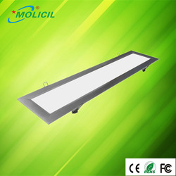 hot sales in europe market warm/natural/pure white 1195x295 led panel light for office