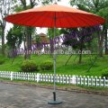 10' 24ribs round outdoor parasol of sunshade