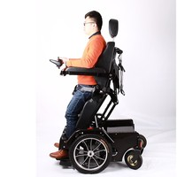 Luxury heavy duty recline standing electric wheelchair for handicapped