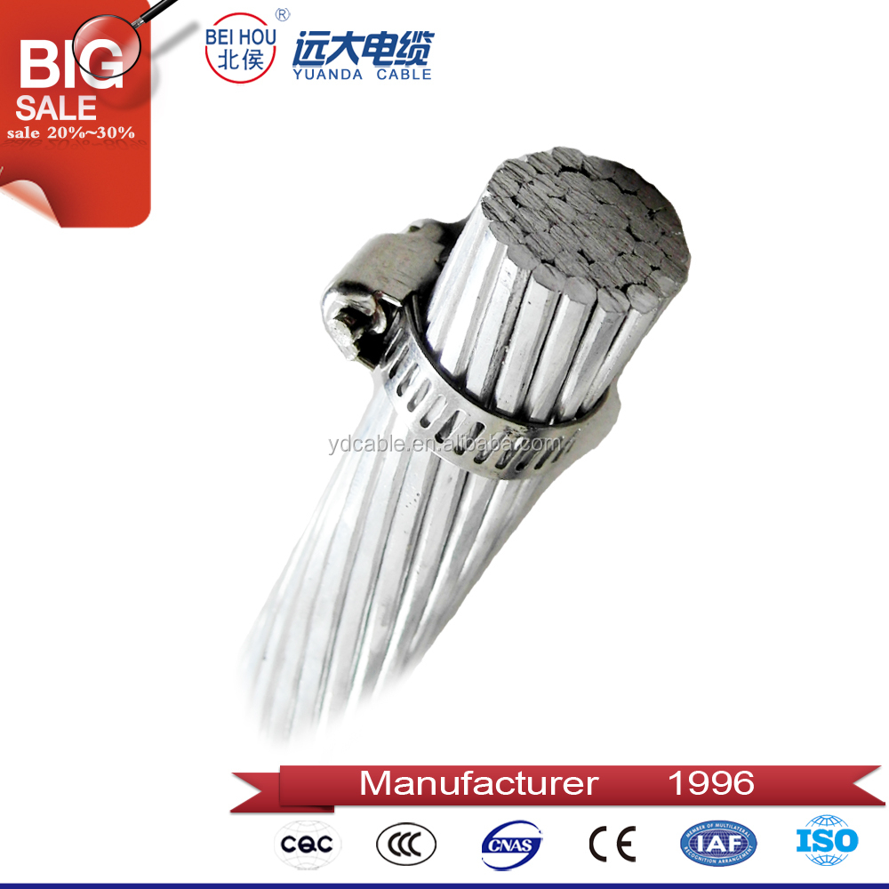 High Purity All Aluminium Alloy Stranded Bare Conductor AAAC/AASC,Electric Wire Sizes