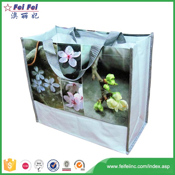 SEDEX/SGS Eco-friendly logo printed non woven extra large shopping bag