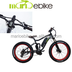 Chinese electric bicycle 48v 1000w fat snow e bike with fat tire 26 inch wheels