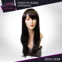 Premium Quality 100% Tangle Free Brazilian 18 Inches Long Human Hair Wigs