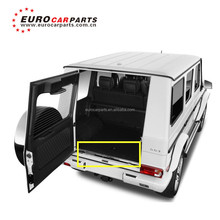 G class body kit with rear door chrome strip fit for G350 G400 G500 G550 G63 G65 autoparts w463 rear door parts