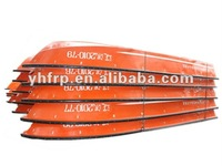 fiberglass outboard speed boat used in flood prevention
