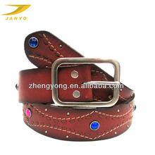 (ZY-7944)Fashion mens belts custom beaded western belts