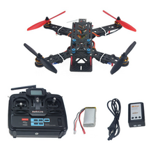 Assembled Full Kit 250mm Q250 PRO Carbon Fiber RFT RC Drone Quadcopter with Transmitter Battery