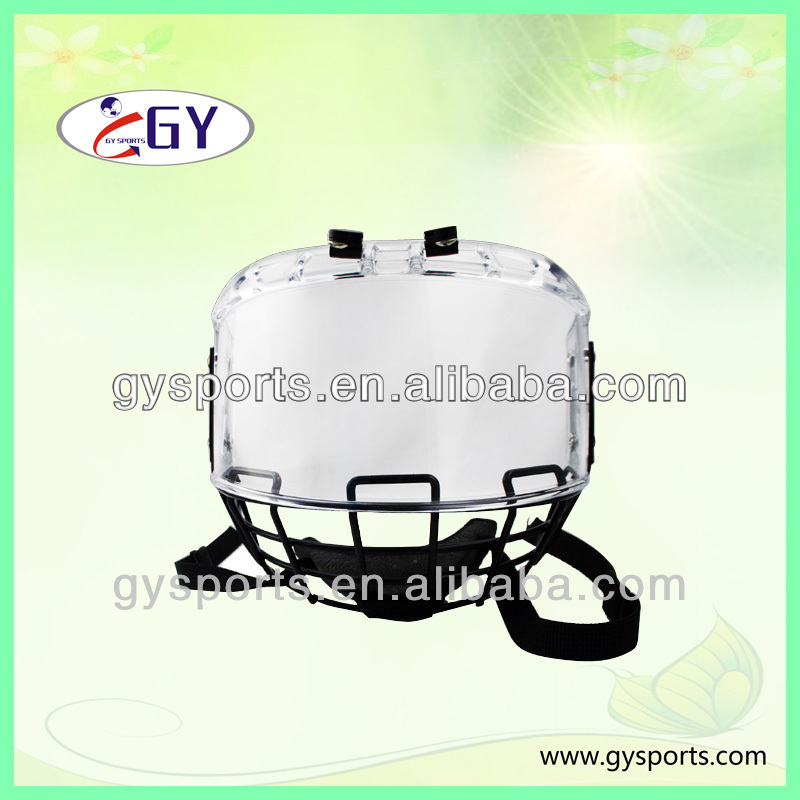 ice hockey helmet cages, face shields, cage shield GY-PC 300 mini helmet visor