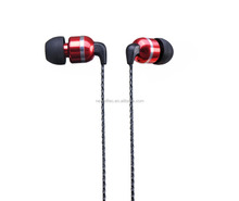 2016 latest Buck Metallic Earbuds for computer/mobile phone mp3