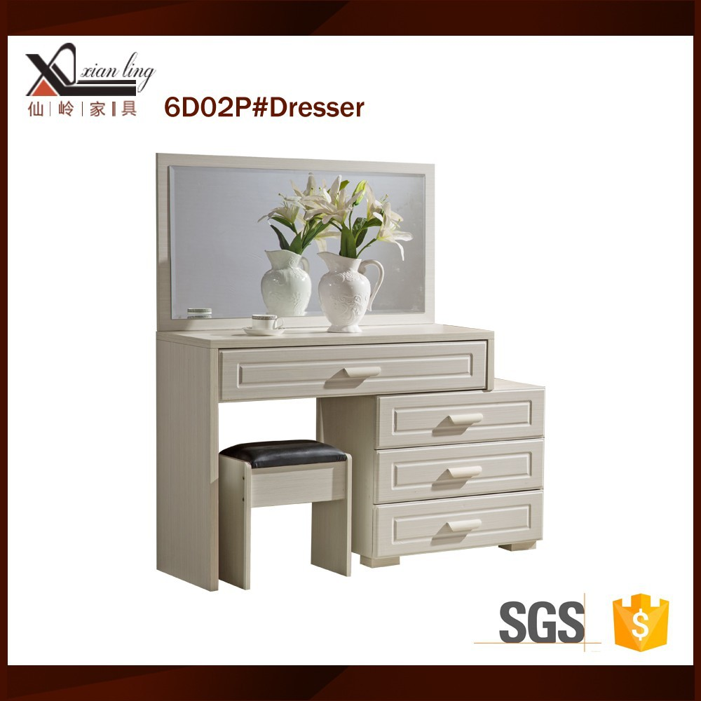 White mirrored modern makeup dresser buy white mirrored for White makeup dresser