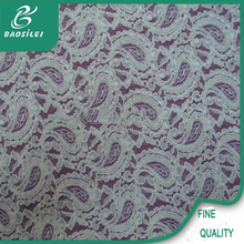 best quality competitive price italian embroidered guipure lace fabric