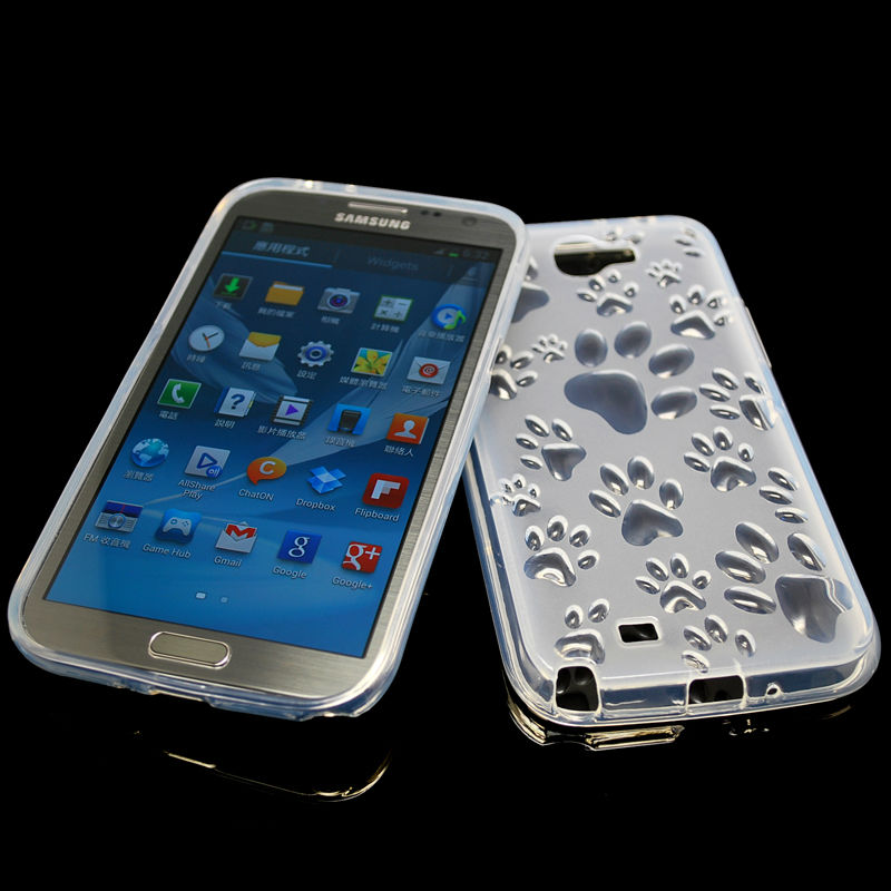 new jerry TPU cellphone case for sumsung galaxy note 2 N7100