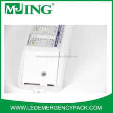 LED emergency power battery pack/conversion kit