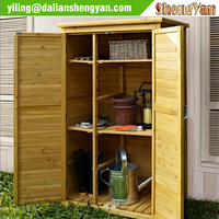 Garden Wood Prefab Tool Shed Wholesale