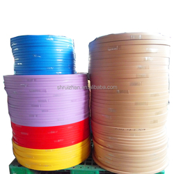 Direct selling factory kitchen cabinet self adhesive plastic PVC edge banding
