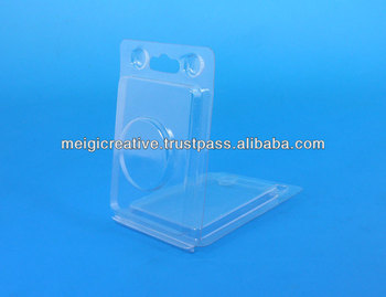 Clear Plastic Clamshell Packages, Retail Packaging