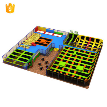 Hot sale factory direct super trampoline park from China