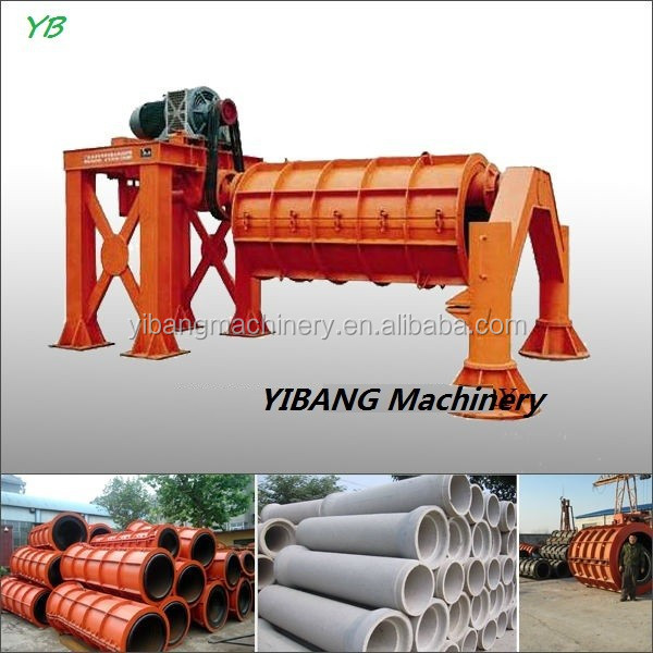 RCC hume pipes making machines for making concrete pipes